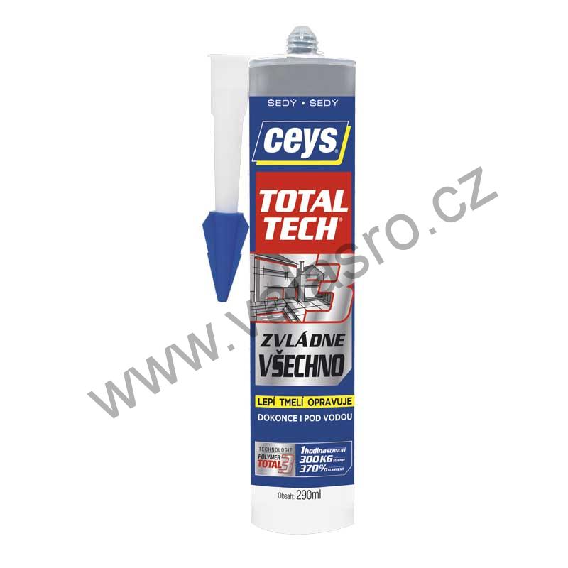 TOTAL TECH EXPRESS 290ml šedá